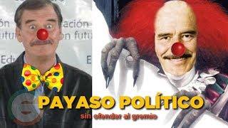 Vicente Fox de ex Presidente de México,  a comediante