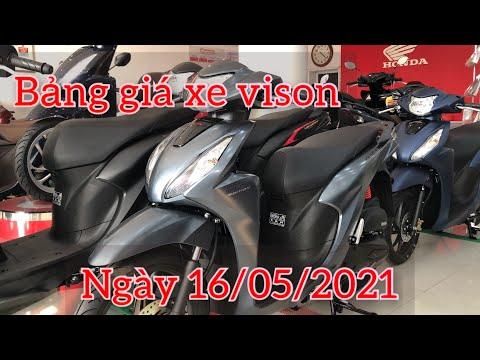 Honda vision 2021 - Báo giá xe vision ngày 16/5/2021 | honda go