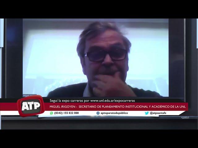 Miguel Irigoyen - secretario de Planeamiento institucional y académico de la UNL - ATP 14 09 21