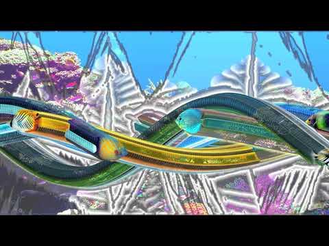 Aquarium Screensaver In TouchDesigner Example