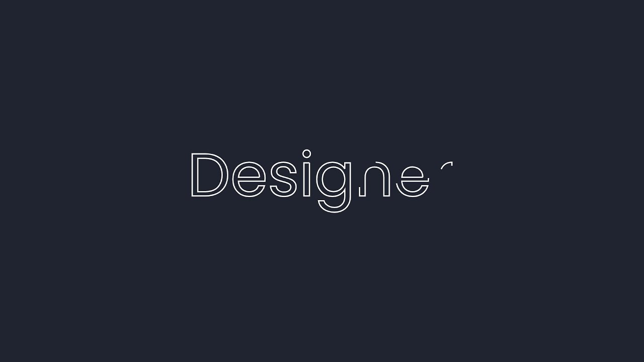 SVG Animation With Text Tutorial | HTML CSS