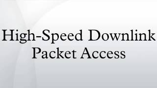 High-Speed Downlink Packet Access