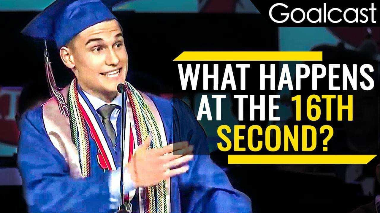 Valedictorian Shares Important Life Lesson   Kyle Martin Speech   Goalcast