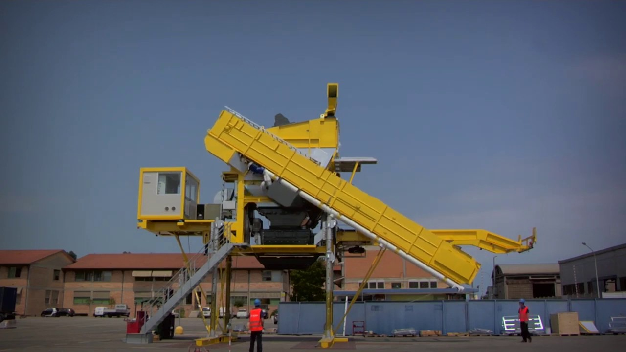 Мобільний асфальтовий завод MARINI XPRESS 2500