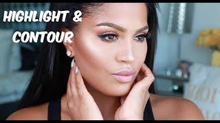 Highlight & Contour Tutorial   MakeupShayla thumbnail
