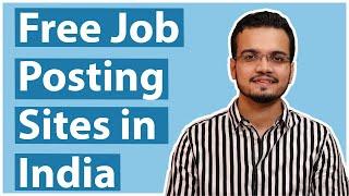 Free Job Posting Sites in India - 2021
