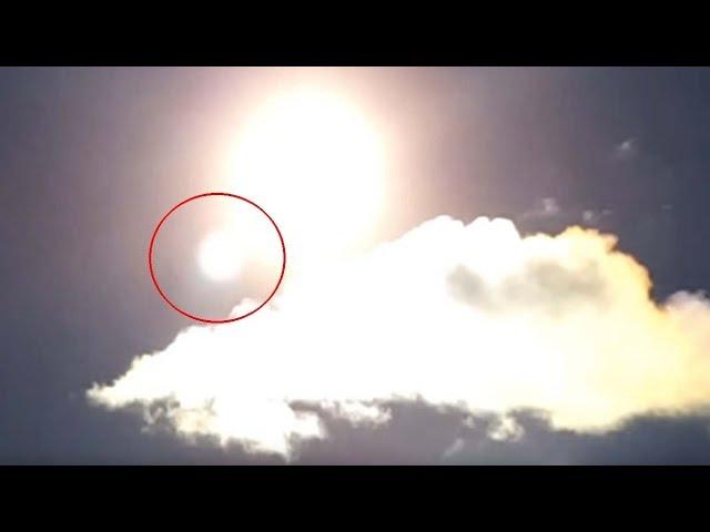 Graban un misterioso objeto junto al Sol a plena luz del día,¿se acerca Nibiru?