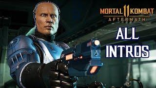 Mortal Kombat 11 - All ROBOCOP Intro Dialogues @ 1440p (60ᶠᵖˢ) ✔