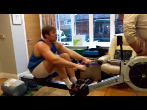 Phil Clapp 500M indoor rowing world record 2017