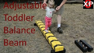 DIY Toddler Balance Beam