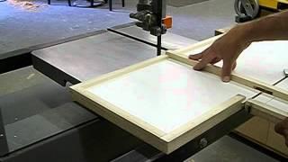 A Bandsaw Circle Cutting Jig