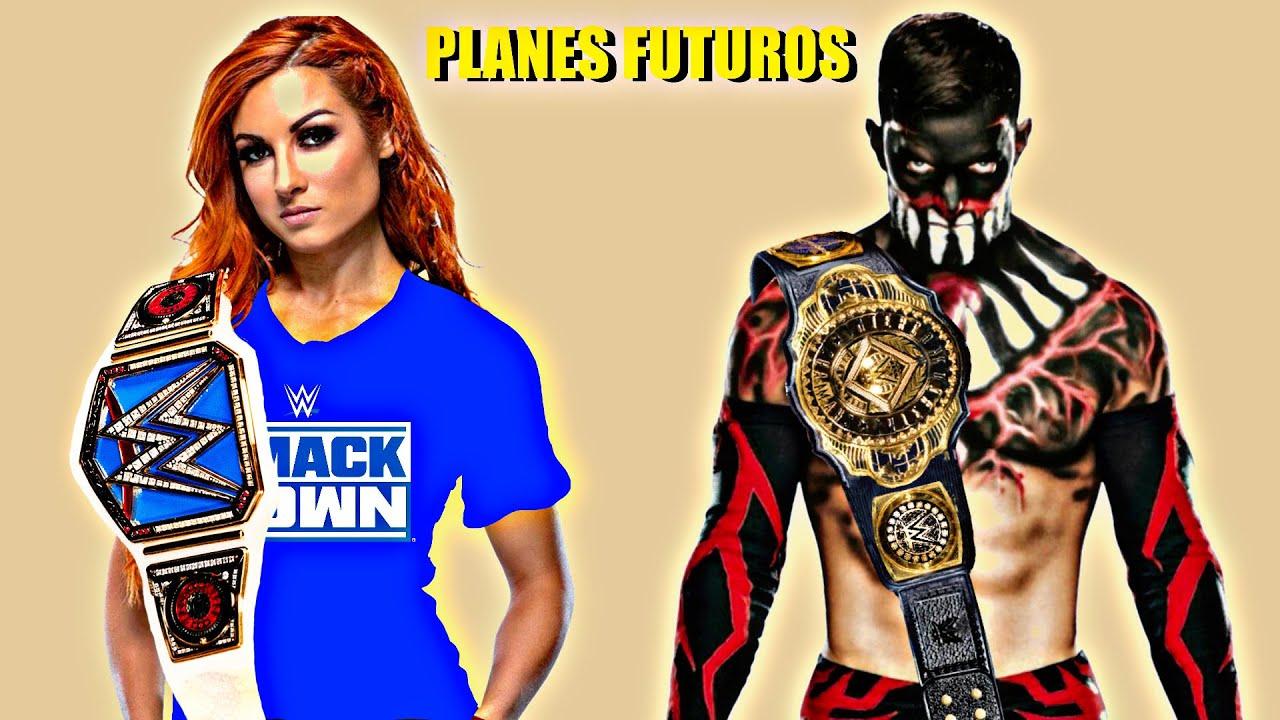 10 Planes Futuros Rumoreados Para Wwe en 2021 - Wrestlemania 38, Becky Lynch Planes de Regreso ...