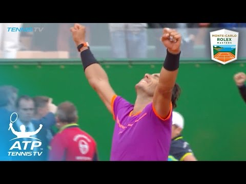 Rafael Nadal wins tenth title in Monte-Carlo | Monte-Carlo Rolex Masters Final Highlights