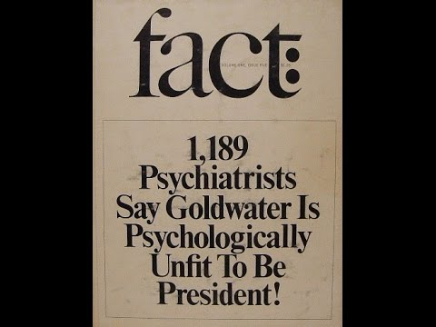 Should Therapists Break The Goldwater Rule To Diagnose Trump?