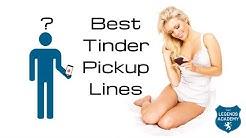 Tinder Pickup Lines For Online Dating