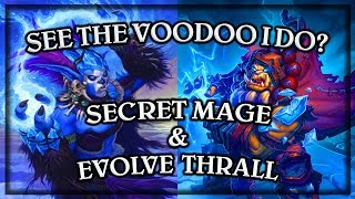 Secret Mage & Thrall Deathseer ~ Knights of the Frozen Throne Expansion (Hearthstone) kotft rng