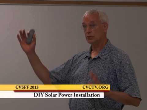 SFF2013 DIY Solar Installation