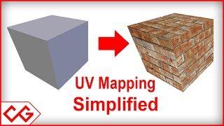 Blender Texturing tutorial - Blender Texture Mapping tutorial (Blender UV mapping simplified)