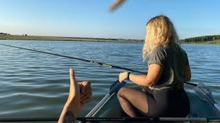 С ЖЕНОЙ на Рыбалку Рыбалка на поплавок Ловля карася Рыбалка 2021
