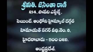 Lent is the Season of God,s Glory part-2 - Telugu Sermon - Sis.Jacintha Rani Sermons