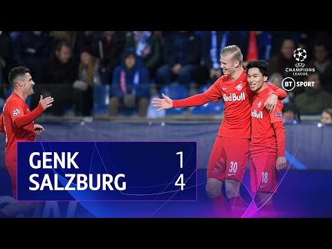 Genk vs RB Salzburg (1-4) | UEFA Champions League Highlights