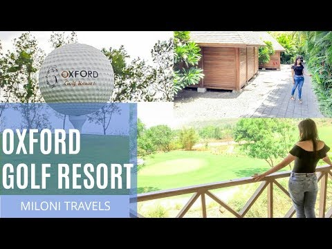 OXFORD GOLF RESORT VLOG I PUNE  2018 VLOG I LIV IT UP WITH M