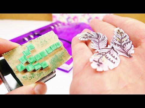 Filofax DIY | Feder Sticker und Stempel für den Filofax selber machen | Zwei tolle  Ideen | DIY