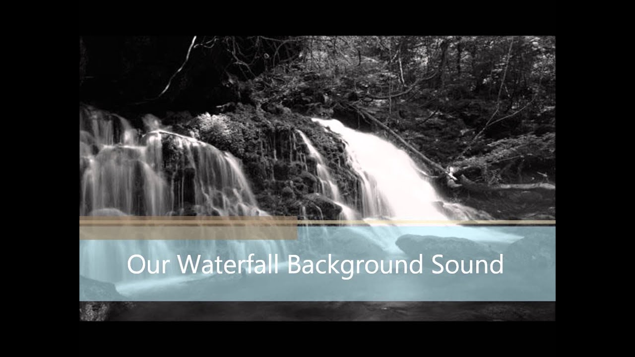 Moving Waterfall Picture Sound Youtube