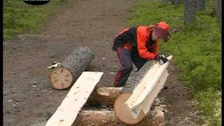 Chainsaw Mill With Stihl And Logosol