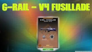 *G-RAIL - v4 FUSILLADE* | EPIC VARIANT | 4 ROUND BURST!!! | CALL OF DUTY INFINITE WARFARE