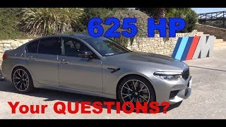 F90 BMW M5 Competition ask YOUR QUESTIONS for tomorrows trackday! Frozen Dark Silver M5 Competition