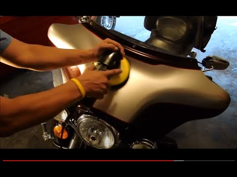 "Polyurethane spray-foam overspray damage Harley Davidson ""Auto Paint Overspray Removal of Texas"""