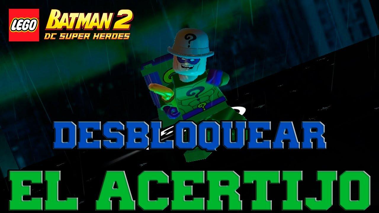 Lego batman 2 dc super heroes desbloqueando personajes for Videos de lego batman