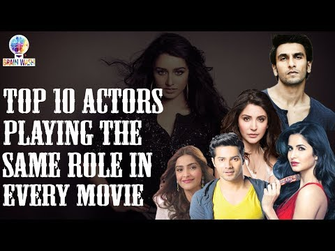 Top 10 Actors Who Play The Same Roles in Every Movie   Top 10   Brain Wash