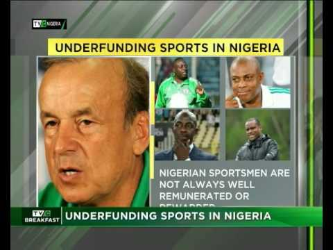 Underfunding Sports in Nigeria