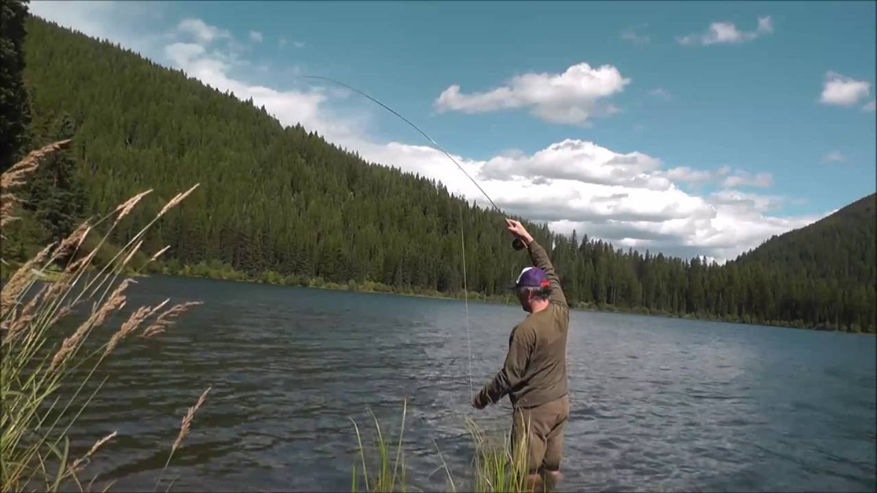 An afternoon fishing at cyclone lake coal creek state for Montana out of state fishing license