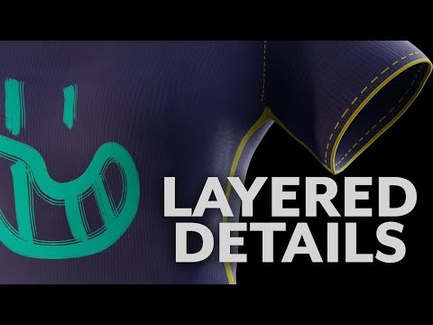 Blender Quick Tip - Clothes, Layers, and Multiple UV Channels in Cycles  Materials
