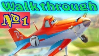 Disney Planes Games - Walkthrough Part 1 [Dusty] Trouble in Propwash Junction!