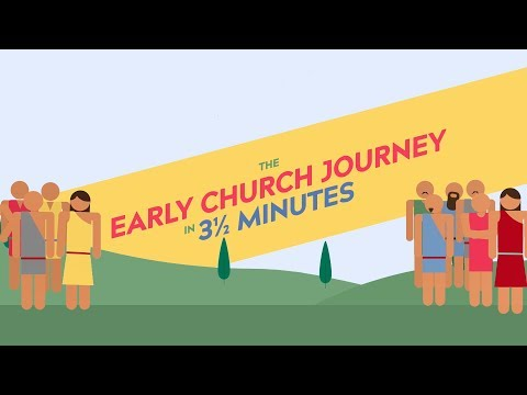 The journey of the Church in 3 ½ minutes