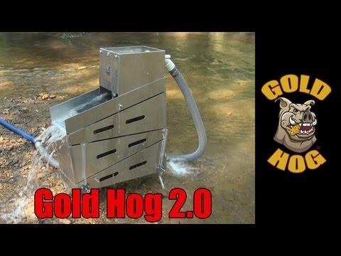 Gold Hog 2.0 Stacking Gold Highbanker