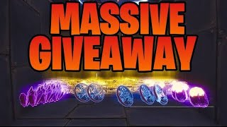 Fortnite Save The World Huge Giveaway [EPIC/PSN=YT_Liam_Games]