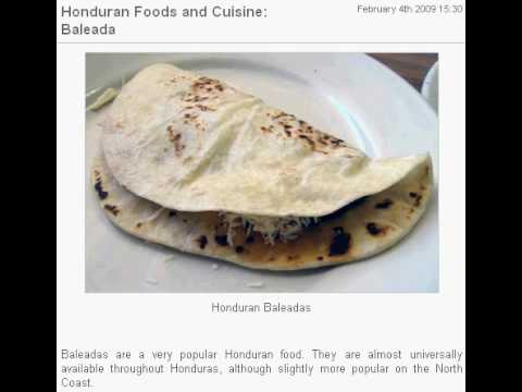 Honduran foods and cuisine baleada youtube forumfinder