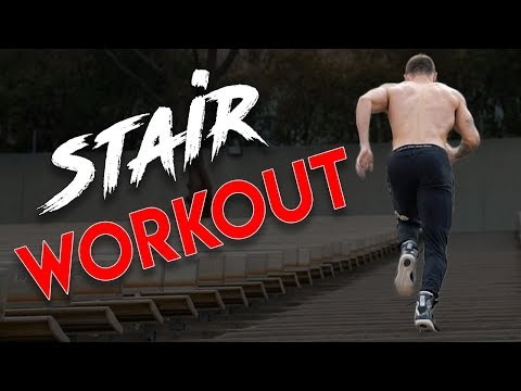Stairs HIIT Workout for Beginners | 5 Stairclimber Exercises