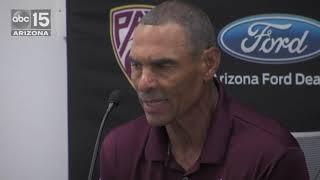 Herm Edwards previews ASU's game at Washington - ABC15 Sports