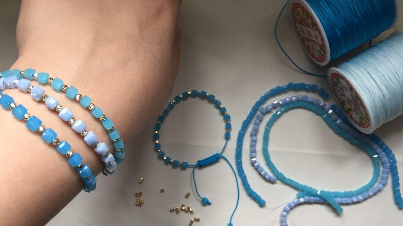 Gozel qolbaq duzeldek makrome ipinden/makrome ipinden bileklik yapımı/ DiY bracelet