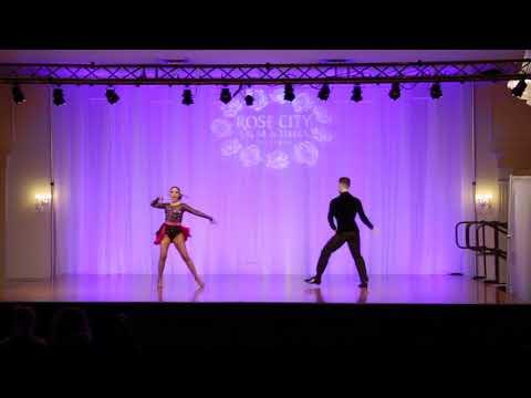 Patrick & Scarlet (Salsa Show 2) - Rose City Salsa Festival 2018