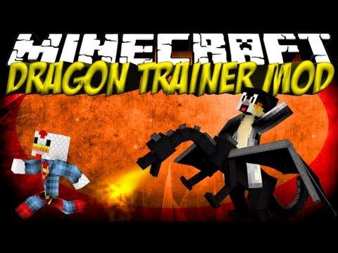 Dragon Mod: Minecraft Dragon Catcher Mod Showcase!