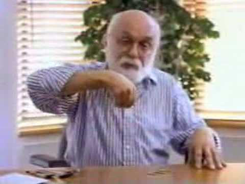 James Randi demonstrates how to fake psychic powers