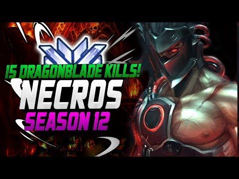 3000+ GENJI GAMES! Necros Genji [ OVERWATCH SEASON 12 TOP 500 ] thumbnail