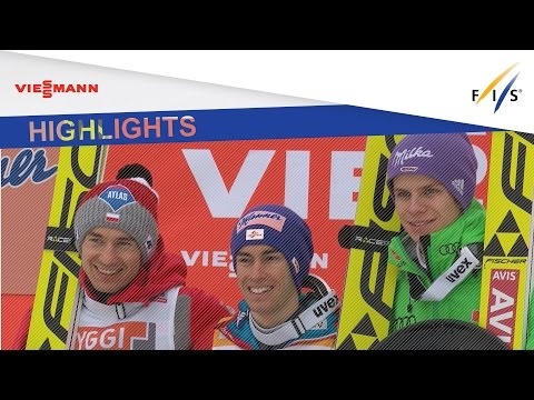 Highlights| Kamil Stoch flies to win in FH Vikersund | FIS Ski Jumping